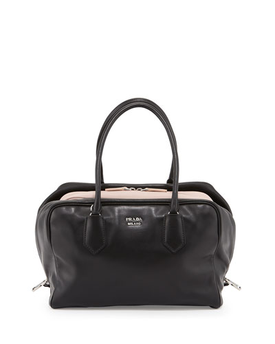 Prada Women\u0026#39;s Handbags - Bergdorf Goodman - Prada Frame calf leather bag