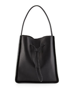 Soleil Large Leather Bucket Bag