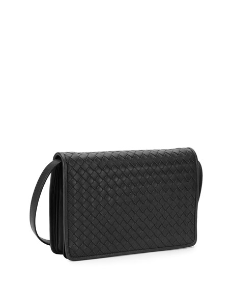 Bottega Veneta Intrecciato Medium Clutch Bag w Strap 956fd2a21be81
