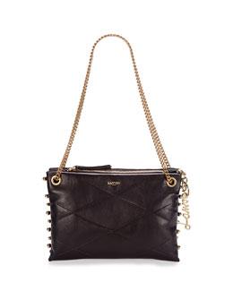 Small Chain Shoulder Bag, Black