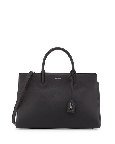 Cabas Rive Gauche Tote Bag, Black