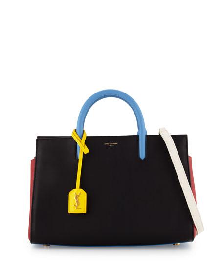 5ee0edee6c011 Saint Laurent Rive Gauche Small Tote Bag