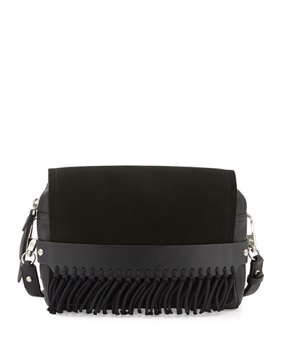 Bianca Medium Crossbody Bag, Black