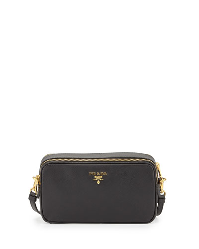 Saffiano Mini Crossbody Bag