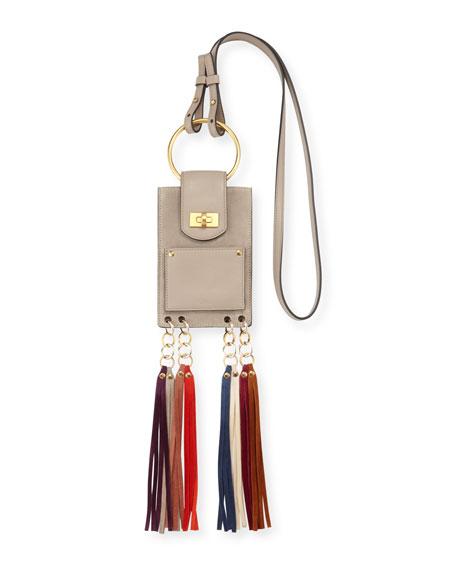 Jane Suede Mini Bracelet Bag