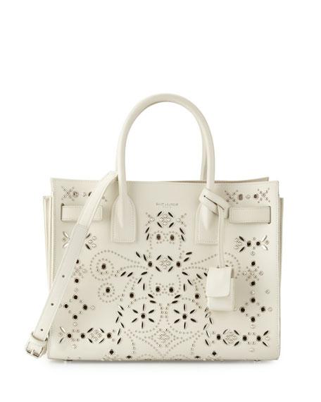 White Studded Bag Sac Bandana De Jour Tote UVjLpGqzSM