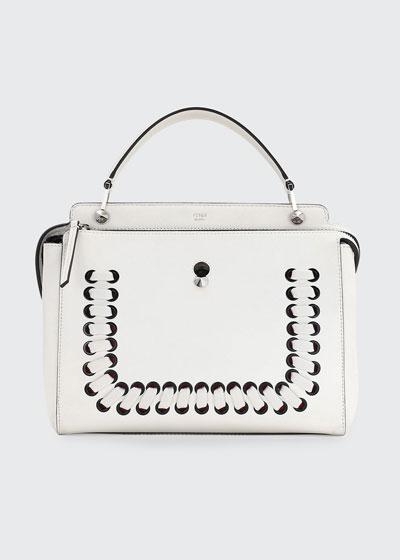 DOTCOM Threading Leather Satchel Bag