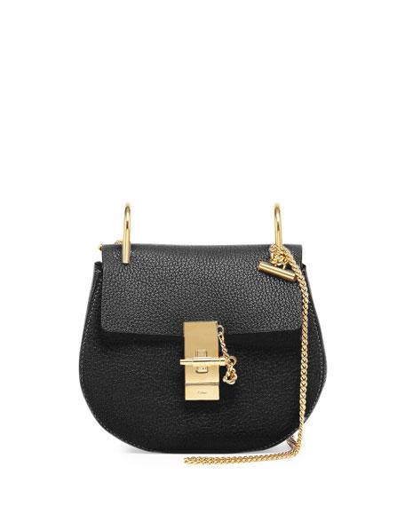 chloe replica handbag - Chloe Drew Mini Shoulder Bag, Black