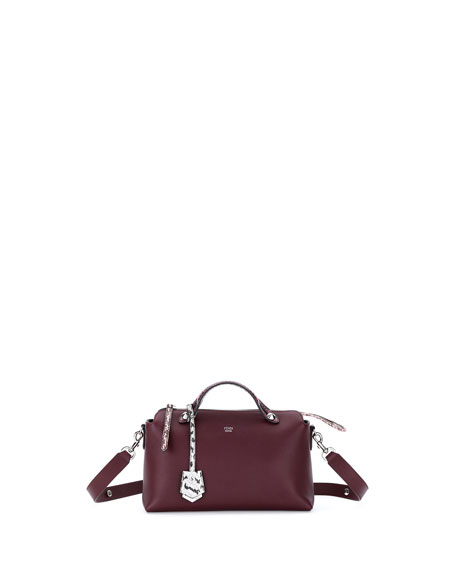 Fendi By the Way Small Leather & Snakeskin Satchel Bag nEVLB8
