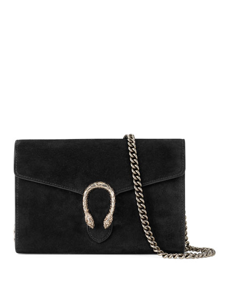 f9ea63ecf59 Gucci Dionysus Suede Mini Chain Bag