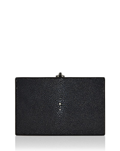 Stingray Ridged Rectangle Clutch