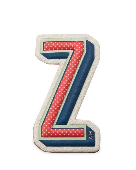 """Z"" Leather Sticker for Handbag"