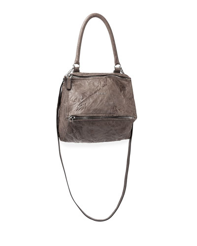 Pandora Mini Old Pepe Crossbody Bag, Caramel