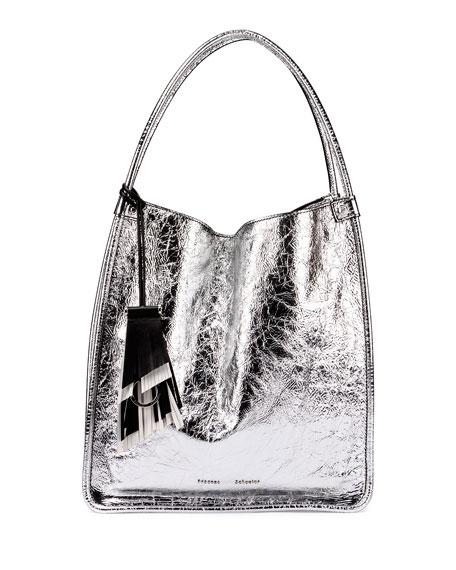Proenza Schouler Medium Metallic Leather Tote Bag b948f08fbacd5