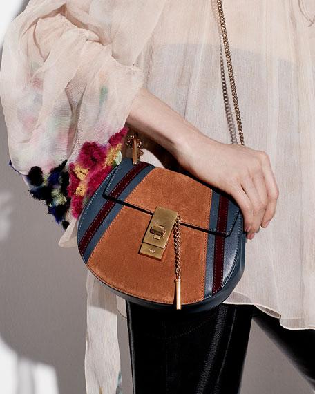 7910e5f85d2 Chloe Drew Mini Patchwork Shoulder Bag