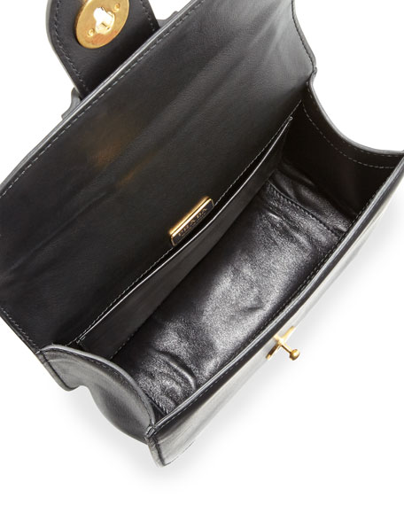 Pionnière Bicolor Leather Saddle Bag