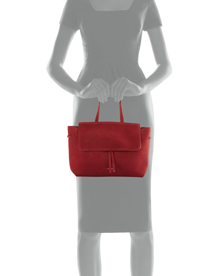 MINI LADY BAG - SUEDE