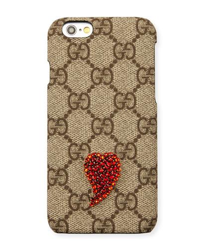 Beaded GG Supreme iPhone 6s/6s Plus Case