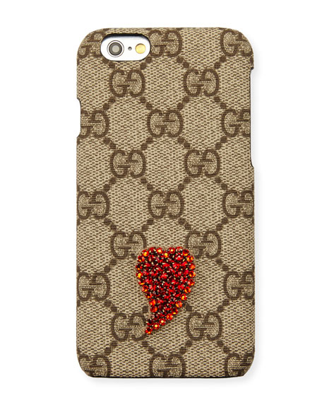release date: 1387c 217c7 Beaded GG Supreme iPhone 6s/6s Plus Case