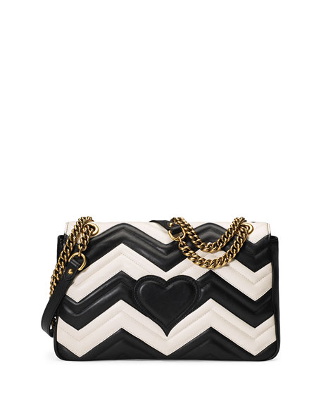 2d9c9bc9d04 Gucci GG Marmont Chevron Shoulder Bag