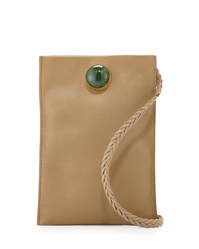 Medicine Small Leather Pouch Bag