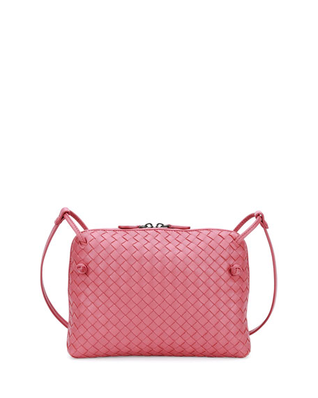 Intrecciato Small Zip Crossbody Bag