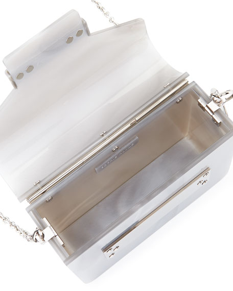 Acrylic Envelope Crossbody Bag