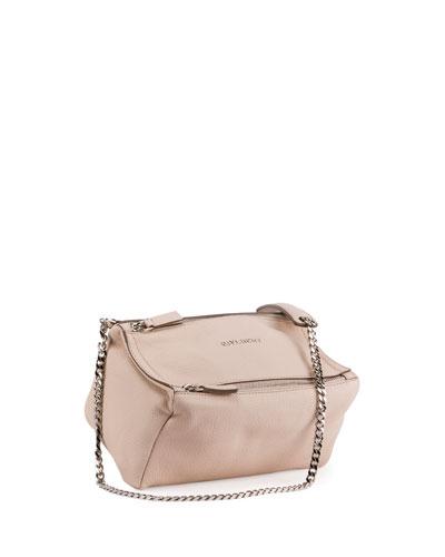 Pandora Mini Chain Shoulder Bag, Nude Pink