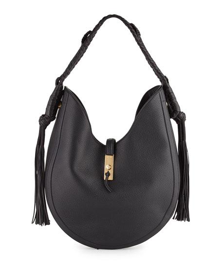 cddee122754d Altuzarra Ghianda Large Leather Hobo Bag