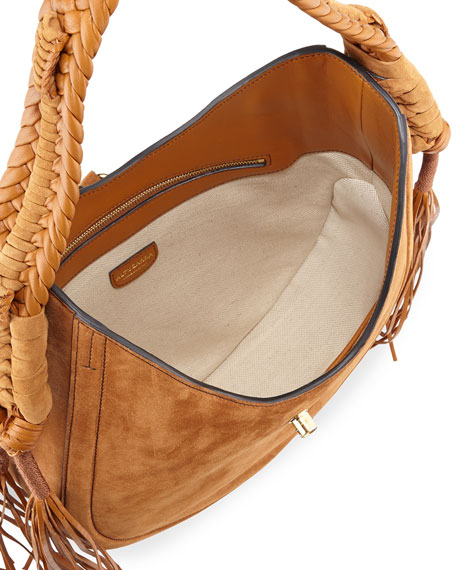 51d259e5e08 Altuzarra Ghianda Small Leather Hobo Bag, Teak