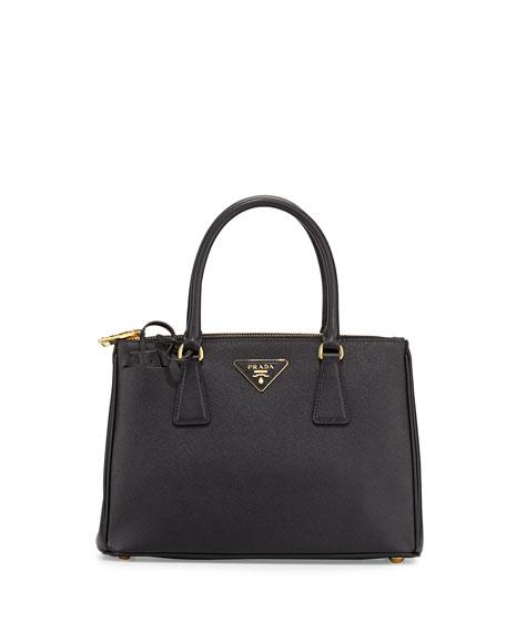 Double tote bag - Black Prada 7Ay31mt