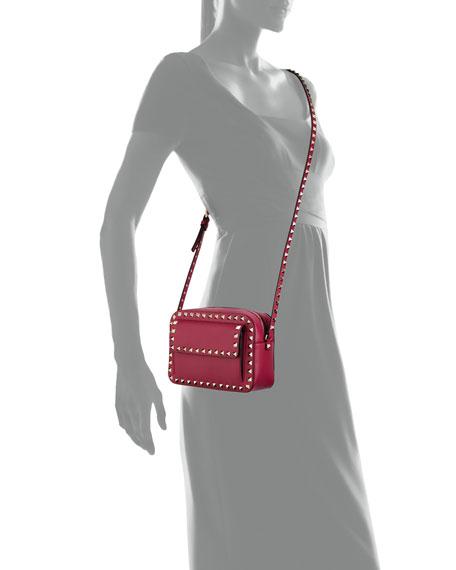 Rockstud Vitello Leather Crossbody Bag