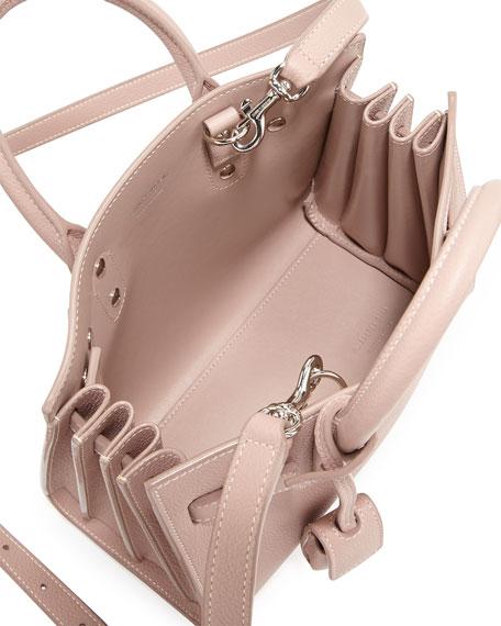 Sac de Jour Nano Leather Satchel Bag, Pink