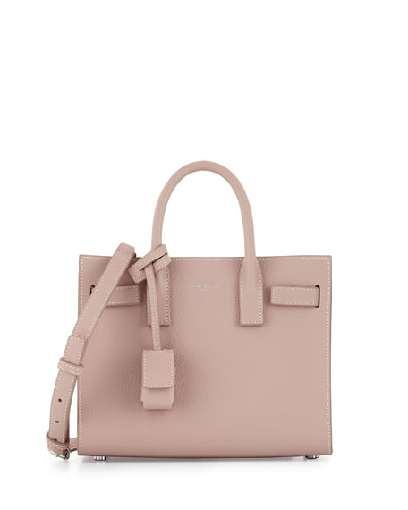 Sac de Jour Nano Leather Satchel Bag, Pink