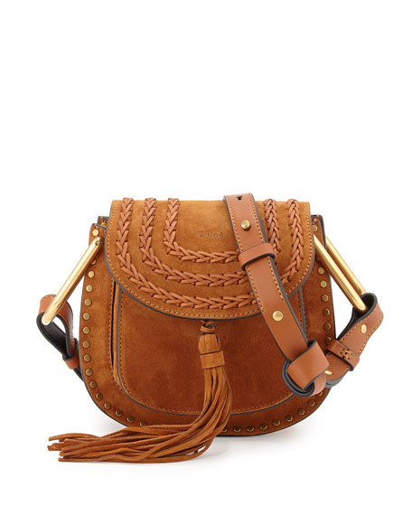 840f3cc1 Hudson Mini Suede Shoulder Bag Caramel