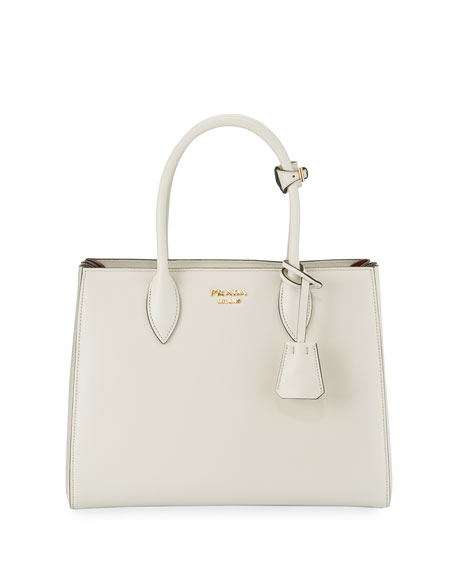 c492c0783078 Prada Bibliotheque Medium Colorblock Tote Bag