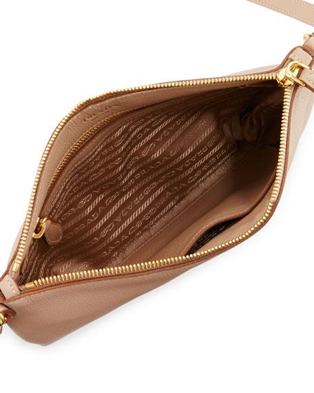 Vitello Daino Large Crossbody Bag