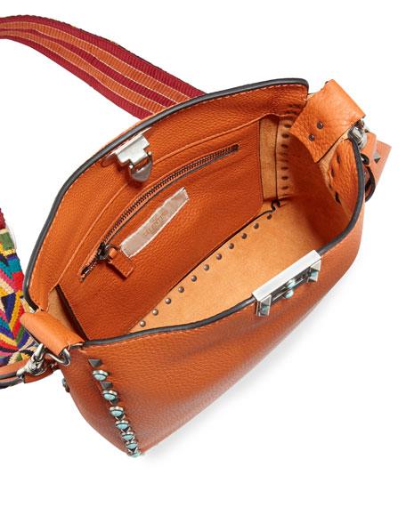 Rockstud Rolling Medium Flip-Lock Messenger Bag