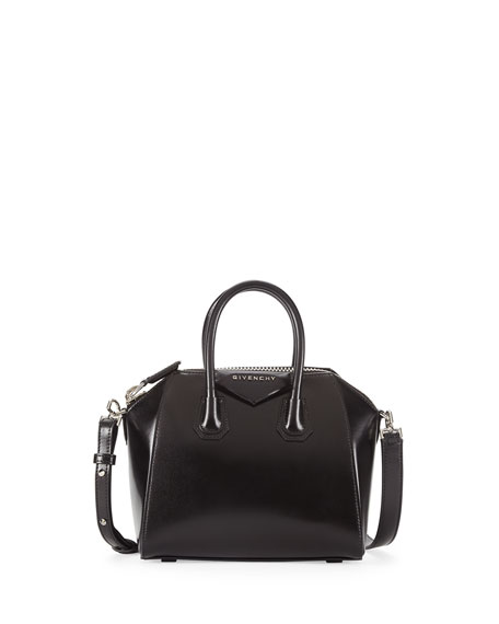 Antigona Mini Box Calfskin Satchel Bag