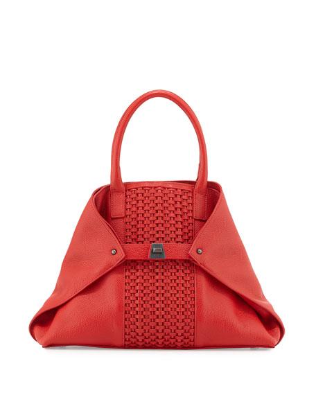 Ai Small Woven Shoulder Bag