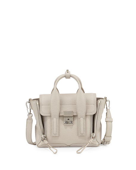 3.1 Phillip Lim Pashli Mini Leather Satchel Bag,