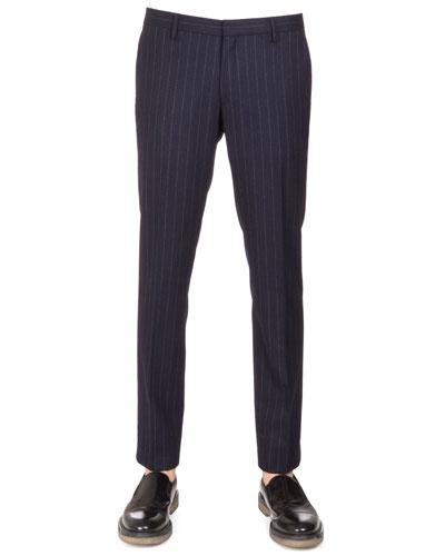 Patrini Slim Pinstripe Pants