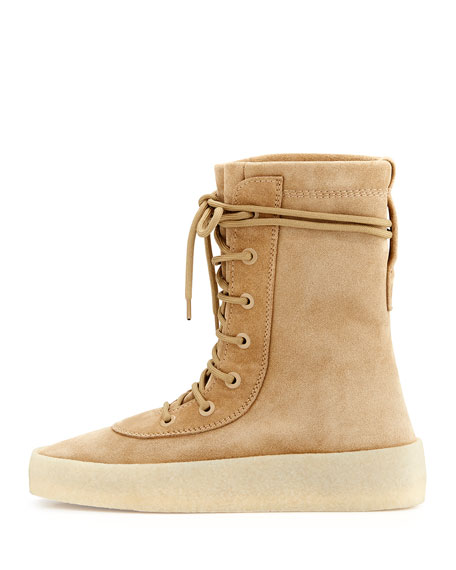 Suede Yeezy Boot, Taupe