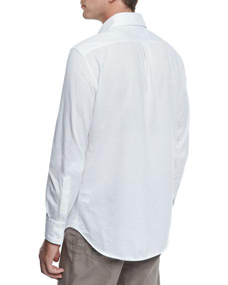 Piqué Knit Sport Shirt