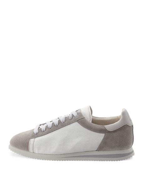 Men's Ares Suede & Canvas Running Sneaker
