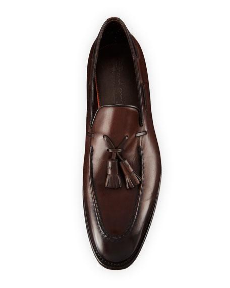 Duke Leather Tassel Loafer