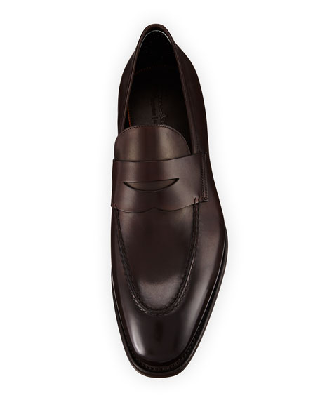Duke Leather Penny Loafer