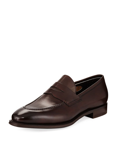 a643cdc2ced Promotion Duke Leather Penny Loafer