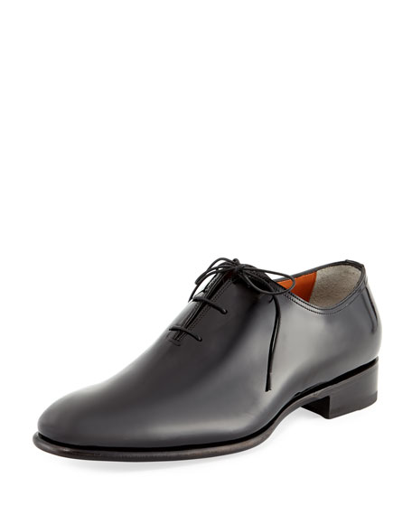 the best attitude 43137 157b9 Santoni Carter Whole-Cut Patent Oxford