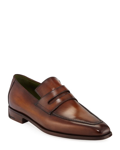 Men's Andy Leather Penny Loafers